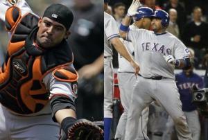 Bengie Molina Giants vs Rangers-thumb