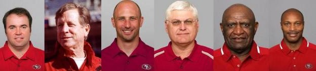 These were the offensive coordinators - or, at least, most of them - that helmed mediocre 49ers offenses since 2003. Can Geep Chryst avoid the same fate?