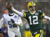 One win away from another NFC North title, Aaron Rodgers and the Packers ascended the Power Rankings this week.
