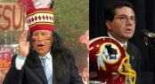 Washington Redskins owner Daniel Snyder (right) and College Gameday host Lee Corso have each made headlines in the realm of insensitivity to Native Americans. Is it really much ado about nothing?