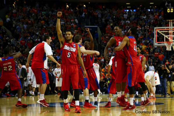 By most accounts, the 11-seeded Dayton Flyers are the Cinderellas of this year's Sweet 16.