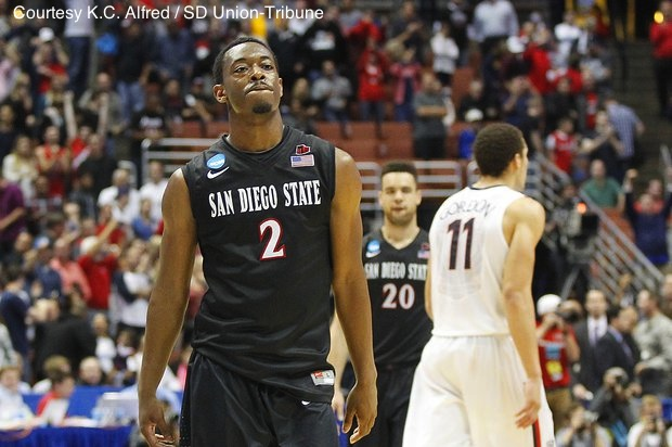 MWC Player of the Year Xavier Thames (#2) ended his SDSU career with a Sweet 16 loss to Arizona. What does the future hold for his college team?