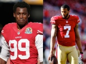 Recent incidents involving marquee 49ers starters Aldon Smith (left) and Colin Kaepernick have the media, fans and critics alike questioning the integrity of the team.