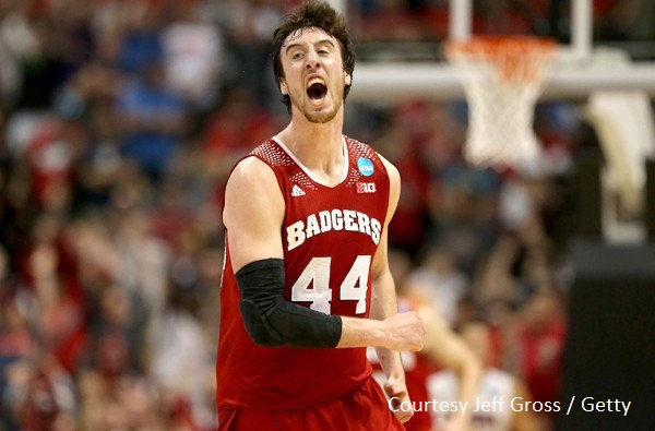 Seven-foot C Frank Kamisky willed his Wisconsin Badgers to the Final Four.