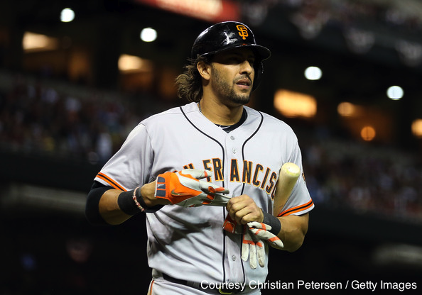 Michael Morse hit two home runs today for the Giants to help the team avoid a three-game sweep at Coors Field.