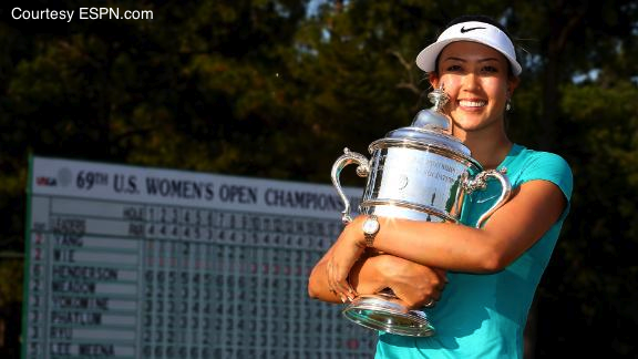11-year pro, and former wunderkind, Michelle Wie finally won that elusive championship she so desperately craved.