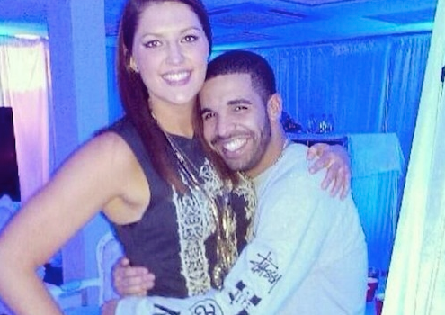 Now, check out this pic of her with rapper Drake, and have a nice day.