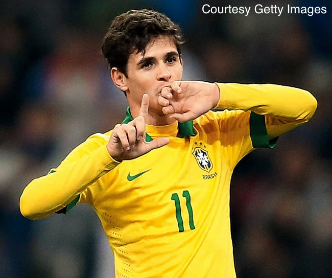 Oscar ended up scoring the only goal of the match for Brazil - a match that will go down in Futbol infamy for the entire country.