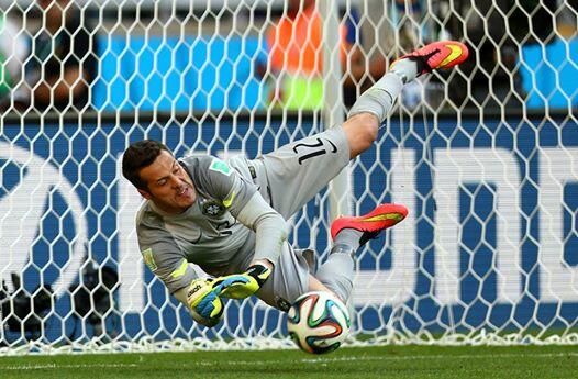 Brazil's Julio Cesar, one of the best goalkeepers in the world, looked like an amateur vs. Germany, allowing 7 goals in the match.