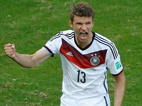 Thomas Muller's goal in the opening minutes would be the first of many in this historic semifinal match.