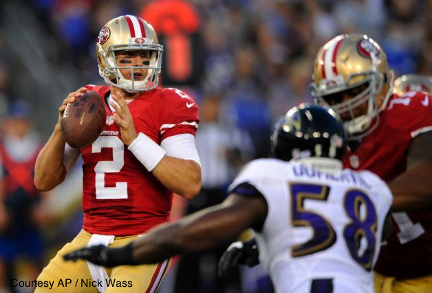 While 49ers backup QB Blaine Gabbert didn't impress on Thursday, a number of Niners did.