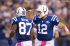 The QB-WR Duo of Andrew Luck and Reggie Wayne dominated the Tennessee defense on Sunday.