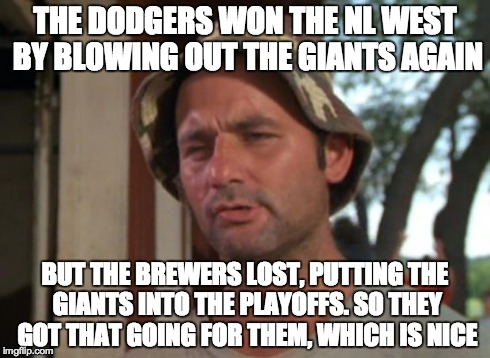 "If you understand ""meme-speak,"" I think this is the collective attitude of Giants fans today."