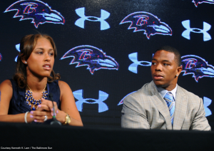 After the fallout from the latest video released of the February domestic violence incident between Ray and Janay Rice, what does it say about society in general?