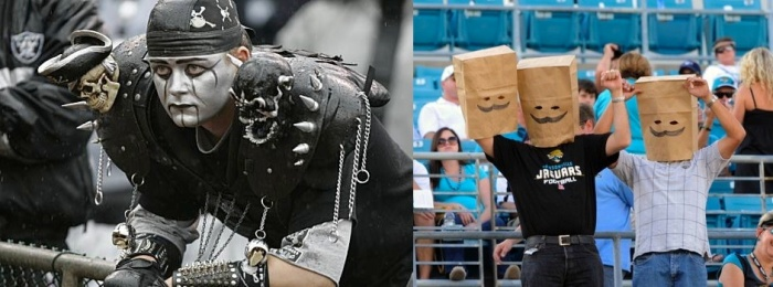 I apologize to any Raiders or Jaguars fans.