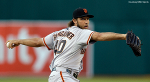 Giants SP Madison Bumgarner pitched a postseason gem, en route to an 8-0 Wild Card win for San Francisco.