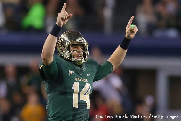 Baylor QB Bryce Petty carved up the vaunted TCU defense for 510 yards and 6 TDs.