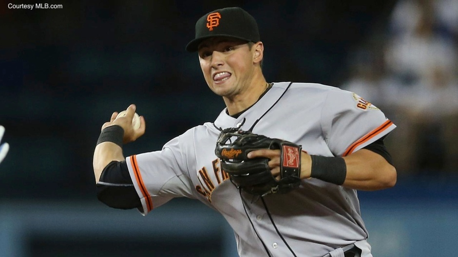 2B Joe Panik has played like a veteran so far this postseason, compiling five hits through two games.