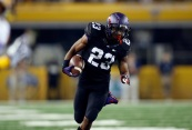 Despite TCU RB B.J. Catalon's 119 total yards, the Horned Frogs could not hold onto a 21-point lead in the fourth quarter.