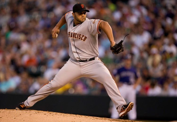 The Giants relied on 6 innings of relief pitching from SP Yusmeiro Petit in the 18-inning marathon that was Game 2 for a 2-1 victory.
