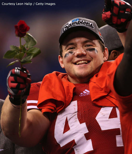 "Just like in college, looks like Chris Borland's career so far is ... ""coming up Roses."" Hah? HAH?? Aww, you get it."