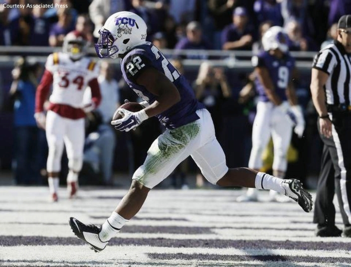 TCU's Aaron Green has been invaluable to the offense in 2014.
