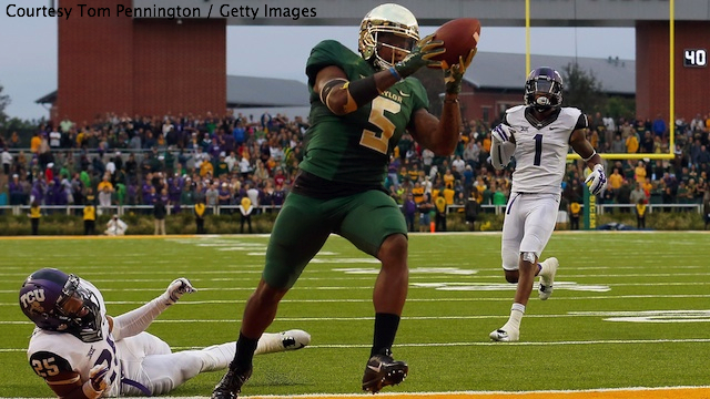 And the Horned Frogs will be kicking themselves for blowing a 21-point second-half lead in Waco.