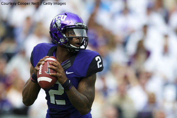 TCU QB Trevone Boykin can show the College Football world his Horned Frogs didn't deserve to get jettisoned from the CFP with a victory over Ole Miss on New Year's Eve.