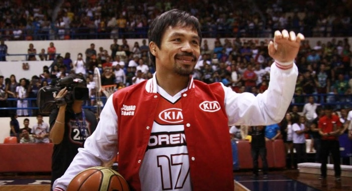 But instead of Dave Chappelle, it's Manny Pacquiao.