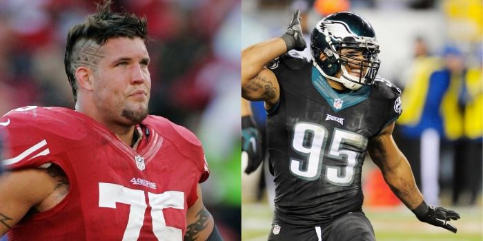 If a trade between San Francisco and Philadelphia - G Alex Boone for LB Mychal Kendricks - actually happened, would both sides come up roses?