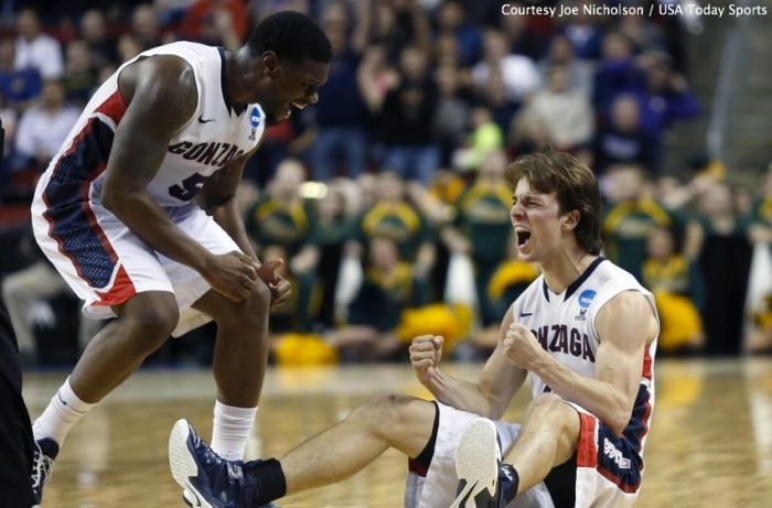 Gonzaga's Gary Bell Jr. (left) and Kevin Pangos are key contributors to the Bulldogs' run to the Sweet 16.