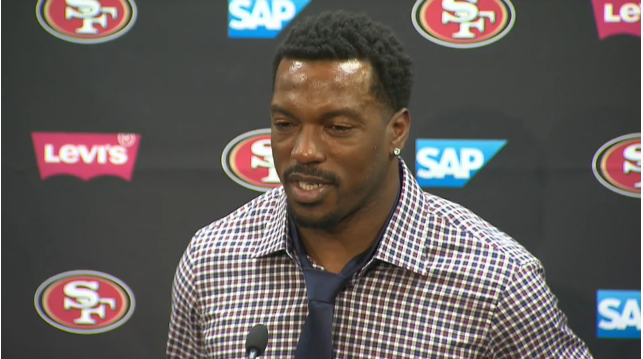 49ers LB Patrick Willis bids adieu to the team that drafted him, on his own terms.