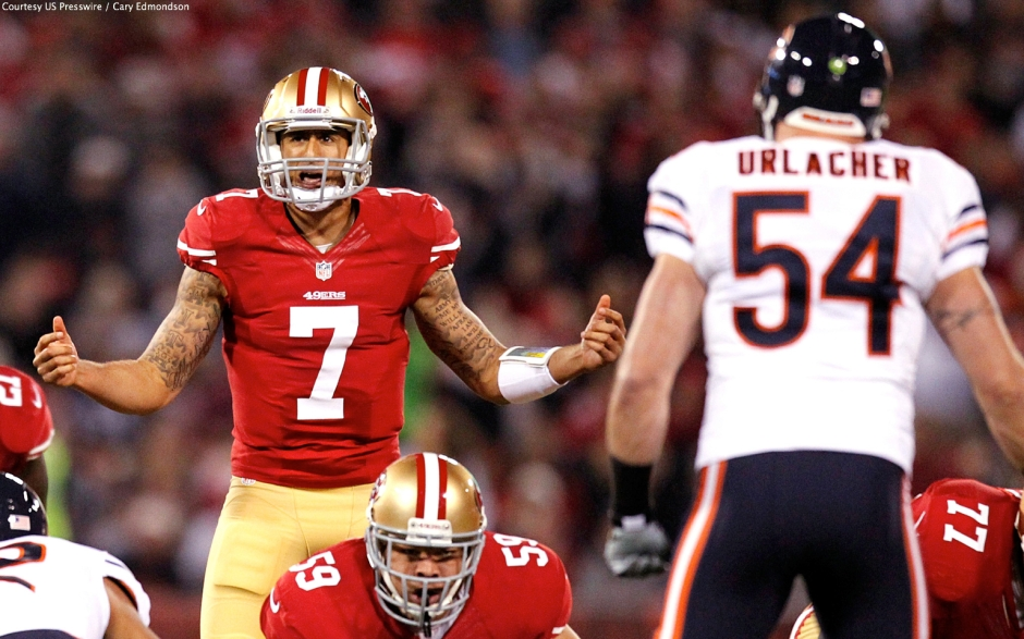 Can Kap play like he did in 2012 against a revamped Bears team (and not like he did in 2014)?