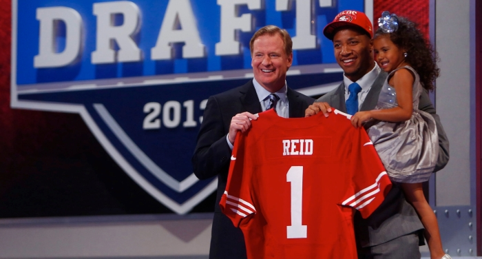 2013 produced a first-round Pro Bowler for the 49ers in LSU free safety Eric Reid. Can the front office pull off a similar coup with the 15th pick this year?