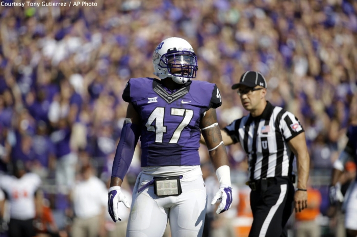 TCU's Paul Dawson could be a great option at LB if the 49ers can wait until the second round.