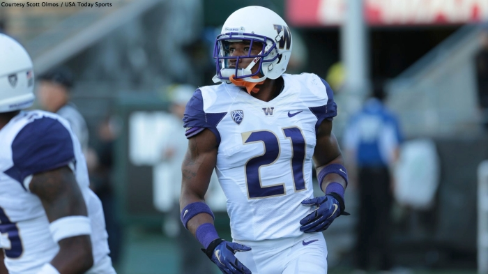 Character concerns for Washington CB Marcus Peters could be overlooked if the 49ers wanted a dynamic playmaker in the secondary at the 15th pick.