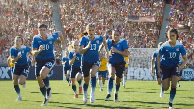 The United States continued their march towards a possible 2015 Women's World Cup title against China in the quarterfinals.