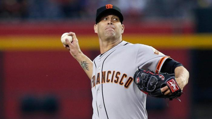 In the final year of his contract, Giants fans may have seen the last of Tim Hudson, who was placed on the DL today.