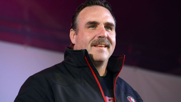 New 49ers head coach got his first official preseason win on Sunday.