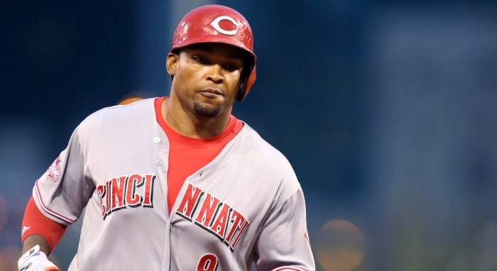Cincinnati Reds OF Marlon Byrd was traded to the San Francisco Giants on Thursday. Can he help a fledgling offense reach the postseason?